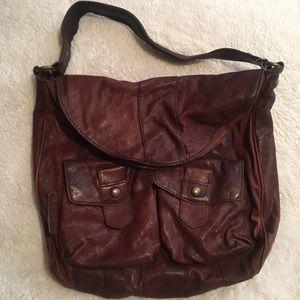 Andrew Marc shoulder leather bag
